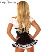 3 Piece Pin-Up Navy Officer Costume