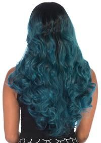 BLENDED TWO-TONE LONG WAVY WIG