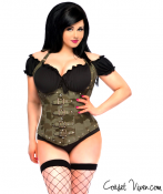 Army Corset with Buckles