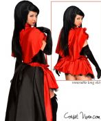 Miss Riding Hood Corset Costume