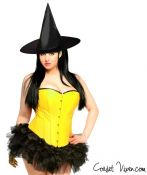 Pin-up Yellow Witch Corset Costume