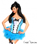 Plus Size 4 Piece Alice Corset Costume