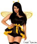 Queen Bee 4 Piece Corset Costume