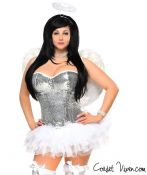 Sequin Angel Corset Costume