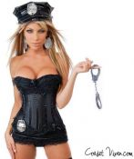 The Sexy Corset Cop Costume