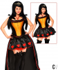 Sexy Heart Queen Corset Costume