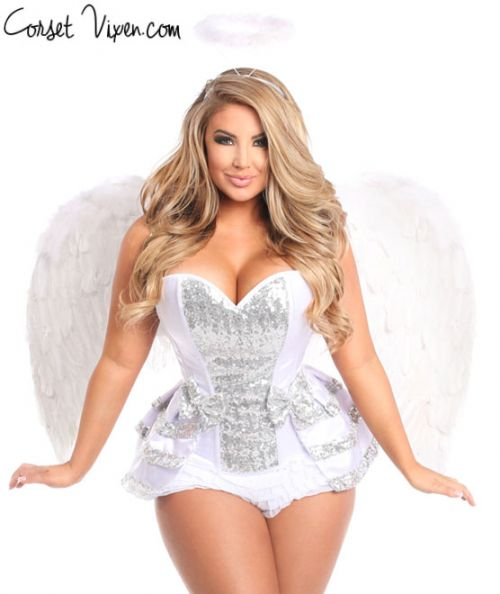 Angel Corset Costume Sexy
