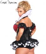 Premium Royal Queen Corset Costume
