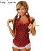 School Girl Halter Costume