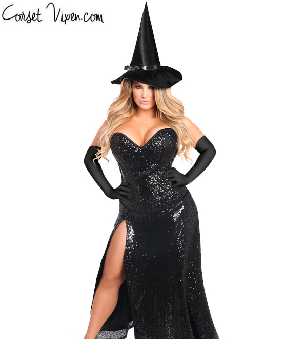 Sexiest Witch Corset Costume  sc 1 st  Corset Vixen & Sexiest Witch Corset Costume | Shop Corset Vixen Costumes