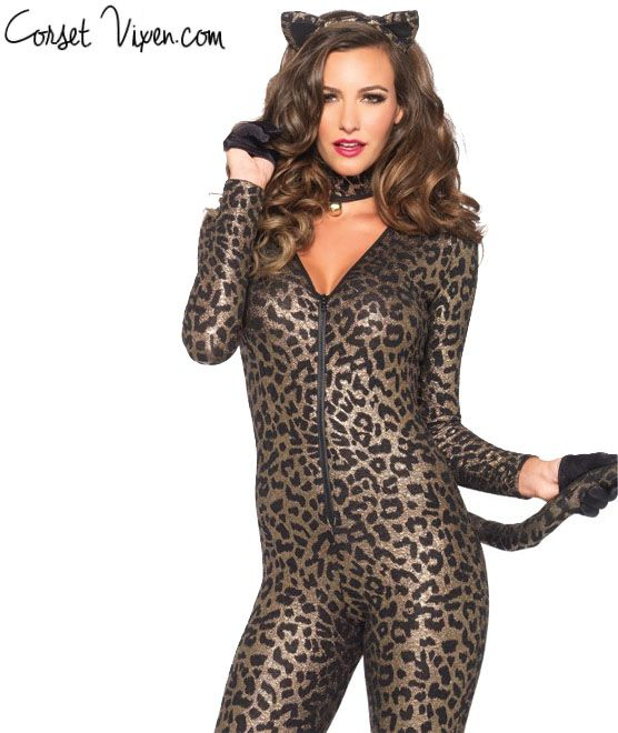 Sexy Bodysuit Kitten Cat Costume
