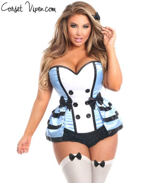 Sexy Flirty Alice Corset Costume