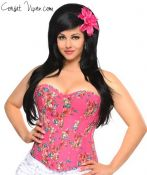 The Lily Floral Corset