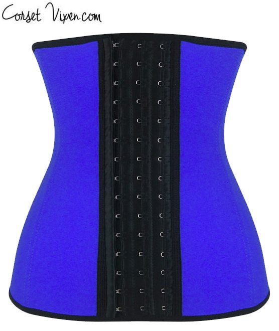 Latex Body Shaper (Color: B B P P O: Blue)