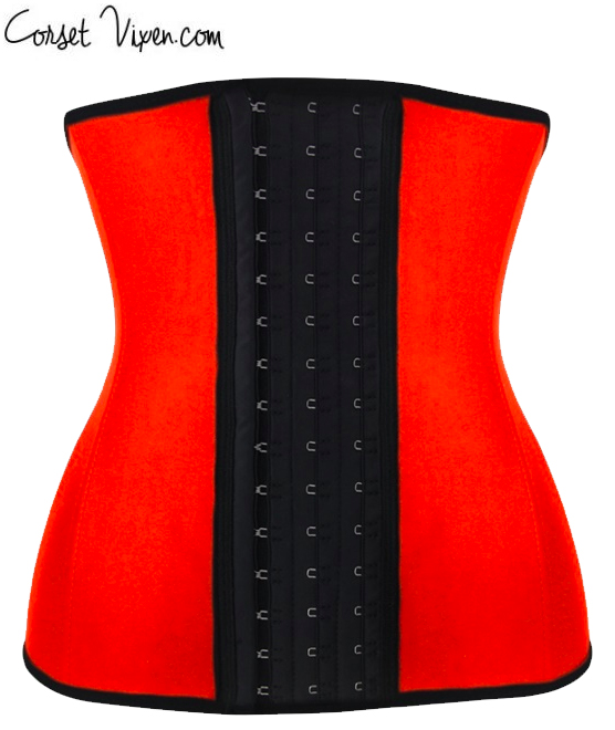 Latex Body Shaper (Color: B B P P O: Orange)