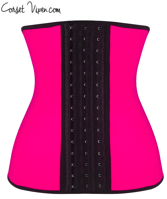 Latex Body Shaper (Color: B B P P O: Pink)
